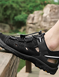 cheap -Men's Hiking Shoes Breathable Quick Dry Anti-Slip Comfortable Running Hiking Jogging Summer Brown Black