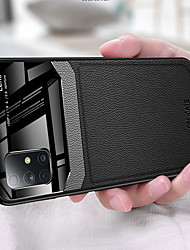 cheap -Camera Protection PC Leather Phone Case For Samsung Galaxy S20 Ultra S20 Plus S10 Plus S10e S9 Plus S8 Plus Note 10 Pro Note 9 Note 8 Soft TPU Shockproof Back Cover