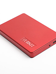 cheap -LITBEST YD0015 HDD Mobile High Speed External Portable Hard Disk Personal Cloud Smart Storage 2.5 Inch USB3.0 Red 120G / 160G / 250G / 320G / 500G