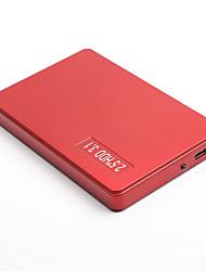 Недорогие -litbest yd0015 hdd мобильный высокоскоростной внешний портативный жесткий диск персональное облако интеллектуальное хранилище 2.5 дюйма usb3.0 красный 120 г / 160 г / 250 г / 320 г / 500 г
