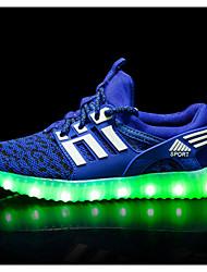 cheap -Boys' / Girls' Comfort Mesh Trainers / Athletic Shoes Big Kids(7years +) Black / Fuchsia / Pink Spring
