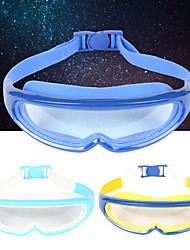 Недорогие -плавательные очки Регулируемый размер Нет утечки Для Детские силиконовый Поликарбонат Неприменимо Прозрачный