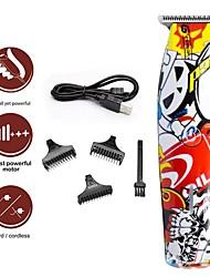 Недорогие -крутой 2020 usb clipper масляная головка электрическая машинка для стрижки воды передачи красочные граффити машинка для стрижки волос парикмахерская профессиональный электрический машинка для стрижки