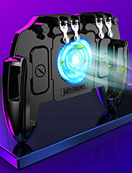 cheap -PUBG Game Contrller Mobile Phone Controller Wireless Game Trigger For Android Portable Game Trigger ABS+PC 1 pcs unit