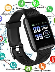 cheap -116plus Unisex Smart Wristbands Android iOS Bluetooth Waterproof Heart Rate Monitor Blood Pressure Measurement Health Care Camera Control ECG+PPG Sleep Tracker Community Share Pulsometer