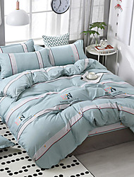 cheap -Printing pattern bedding four-piece quilt cover bed sheet pillow cover dormitory single double