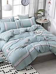 Недорогие -шаблон печати постельное белье из четырех частей пододеяльник простыня наволочка общежитие одноместный двухместный