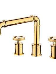 cheap -Bathroom Sink Faucet - Standard Electroplated Other Single Handle One HoleBath Taps