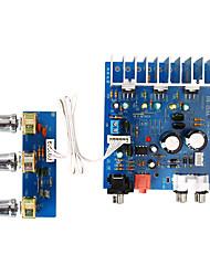 Недорогие -Плата усилителя Цифровой Аудио Стерео Hi-Fi 12-15 V 15+15 2,1 Bass Amplifier Адаптеры 20-200 Hz для авто домашнего кинотеатра