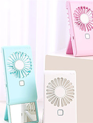 cheap -New Pattern Pocket Fan Usb Charge Mini- Hold Fans Student Outdoors Bring Sika Portable Small Rechargeable Fans Customized