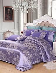 Недорогие -сатин сатин европейский жаккардовый набор из четырех частей 1,8 м двуспальное постельное белье постельное белье 1,5 м постельное белье
