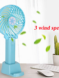 cheap -Mini Handheld Fan Cooler Handheld USB Charging Mini Desk Fan Rechargeable ABS Portable For Office Outdoor Household Travel