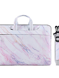 cheap -13.3/14/15.6 inch Bohemian Marble Pattern Lightweight Water Resistant canvas Laptop Messenger Laptop Sleeve Handbags Canvas for Macbook/Surface/Xiaomi/HP/Dell/Samsung/Sony Etc