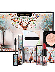 cheap -Makeup Set CC Cream Wet Large Capacity Lifted lashes Uneven Skin Tone Christmas Gifts Birthday Congratulations Gift Casual / Daily