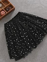 cheap -Women's A Line Skirts - Geometric Black Blushing Pink S M L