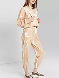cheap -Women's Basic Set - Color Block Pant