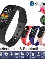 cheap -LM5 Smart Bracelet Heart Rate Monitor Wristband Blood Pressure Fsleep Monitoring Bluetooth Call Watch PK Mi 4 Band for Huawei Android IOS