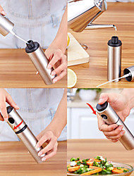 رخيصةأون -زجاجة رذاذ زجاجة الخل زجاجة التوابل زجاجة من الفولاذ المقاوم للصدأ النفط الشواء قطعة أثرية المطبخ زجاجة زيت