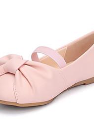 cheap -Girls' Comfort PU Flats Little Kids(4-7ys) Almond / White / Pink Summer