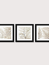 cheap -Framed Art Print Framed Set 3 - Floral Landscape PS Illustration Wall Art