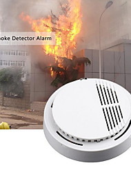 cheap -Smoke detector fire alarm detector Independent smoke alarm sensor for home office Security photoelectric smoke alarm