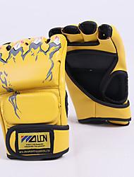 Недорогие -Боксерские перчатки Для Бокс Без пальцев Защитный PU Желтый / Красный / Синий
