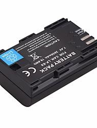 Недорогие -2650 мАч lp-e6 lp e6 lpe6 аккумулятор для фотоаппаратов canon eos 5ds r 5d mark ii mark iii 6d 7d 60d 60da 70d 80d dslr eos 5ds bateria