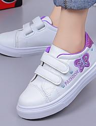 Недорогие -Девочки Удобная обувь Полиуретан Спортивная обувь Маленькие дети (4-7 лет) Беговая обувь Лиловый / Розовый Лето
