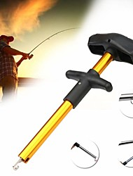 cheap -2pcs Portable T Type Take Hook Fishing Fishing Supplies Gear Articles Offshore Angling Appliance