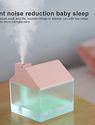 cheap -USB Cat Air Humidifier Mini Humidifier Essential Oil Purifier Atomizer with LED Light Fan for Home Office