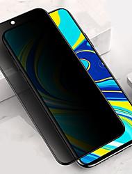 Недорогие -защитная пленка для экрана xiaomi redmi note 9s / note 9 pro / note 9 pro max Защитное стекло для экрана с защитой от шпиона, закаленное стекло, высокое разрешение (hd) / твердость 9 ч