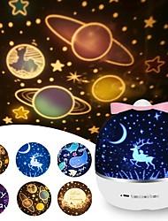 cheap -Night Light Projector Lights Tiktok Star LightGift Box Shape with USB Port Creative Gift for Christmas Valentine's Day Birthday
