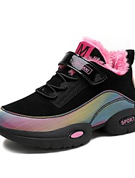 cheap -Girls' Comfort Synthetics Trainers / Athletic Shoes Little Kids(4-7ys) Purple / Fuchsia Winter