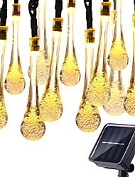 cheap -30 LEDs Outdoor Waterproof Solar String Light Fairy Lights Decoration for Christmas Garden Party Lighting