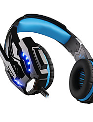 cheap -KOTION EACH G9000 Gaming Headset Wired Stereo Dual Drivers with Volume Control InLine Control for Gaming