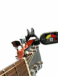 cheap -Tuner ABS Guitar Bass Ukulele Professional Chromatic Generic 3V Battery B0—B7 Musical Instrument Accessories for Music Lovers and Trainers