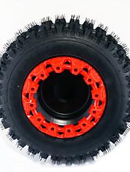Недорогие -1шт 8 дюймов пластиковая защита колеса ступицы колеса ATV оформлены защитные колпачки обода