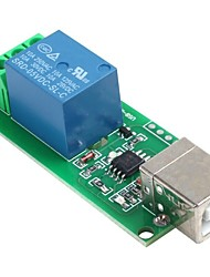 cheap -5V USB Relay Module 1 Channel Computer Control Relay Switch PC Intelligent
