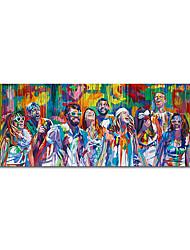 ieftine -imprimeuri pe panza rulata - oameni abstracti arta moderna arta pop arta figura arta pictură modernă peisaj pictură pictură imagini tipărite decorațiuni pentru sufragerie