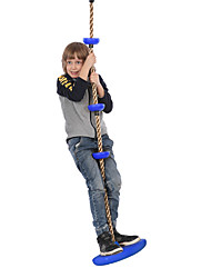 cheap -Play Swings Swing Set Swing Climbing Rope Portable Adjustable Heavy Duty Plastic Shell Kid's Boys and Girls Toy Gift