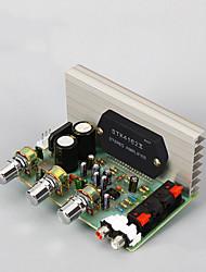 Недорогие -Плата усилителя Цифровой Аудио Стерео Наушники с креплением крючком 15-18 V 50+50 2.0 STK Sanyo Thick Film Series Amplifier Адаптеры 10-20000 Hz для авто домашнего кинотеатра