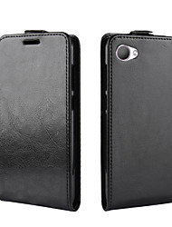 Недорогие -Кейс для Назначение HTC HTC U11 plus / HTC U11 Life / HTC U11 Eyes Бумажник для карт / Защита от удара / Флип Чехол Однотонный Кожа PU