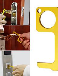 cheap -Portable Hygiene Hand Antimicrobial Brass EDC Door Opener Elevator Handle Key AU