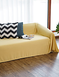 cheap -Soft Solid Color Throw Blankets Bed Couch Throws Sofa Chair Towel Multi-Function for Home Decor Office Travel
