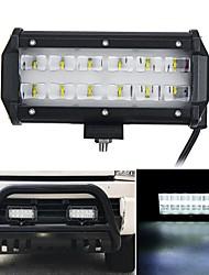 Недорогие -6d светодиодные 36 Вт 6000 К рабочий свет пятно луча лодка грузовик внедорожный внедорожник белый светильник ip67