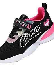 cheap -Girls' Comfort PU Trainers / Athletic Shoes Big Kids(7years +) Walking Shoes Black / Purple / Fuchsia Summer / Rubber
