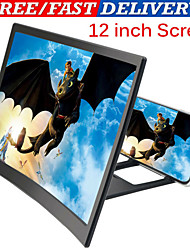 cheap -3D Mobile Phone Screen HD Magnifier Video Amplifier Smartphone Stand Bracket 12 inch Phone Amplifier Holder Party Gifts