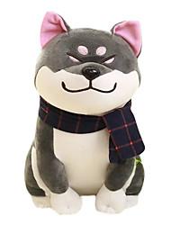 cheap -Stuffed Animal Plush Toys Plush Dolls Stuffed Animal Plush Toy Dog Lovely Exquisite Comfy Wear scarf Shiba Inu Imaginative Play, Stocking, Great Birthday Gifts Party Favor Supplies Boys and Girls