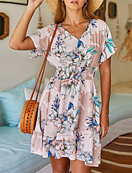 Недорогие -2020 летнее платье с цветочным принтом