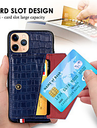 cheap -Luxury Magnetic Card Holder Case for iPhone 11 Pro Max SE 2020 XR XS Max X Flip Leather Wallet Back Case for iphone 8 Plus 7 Plus 6 Plus Phone Cover